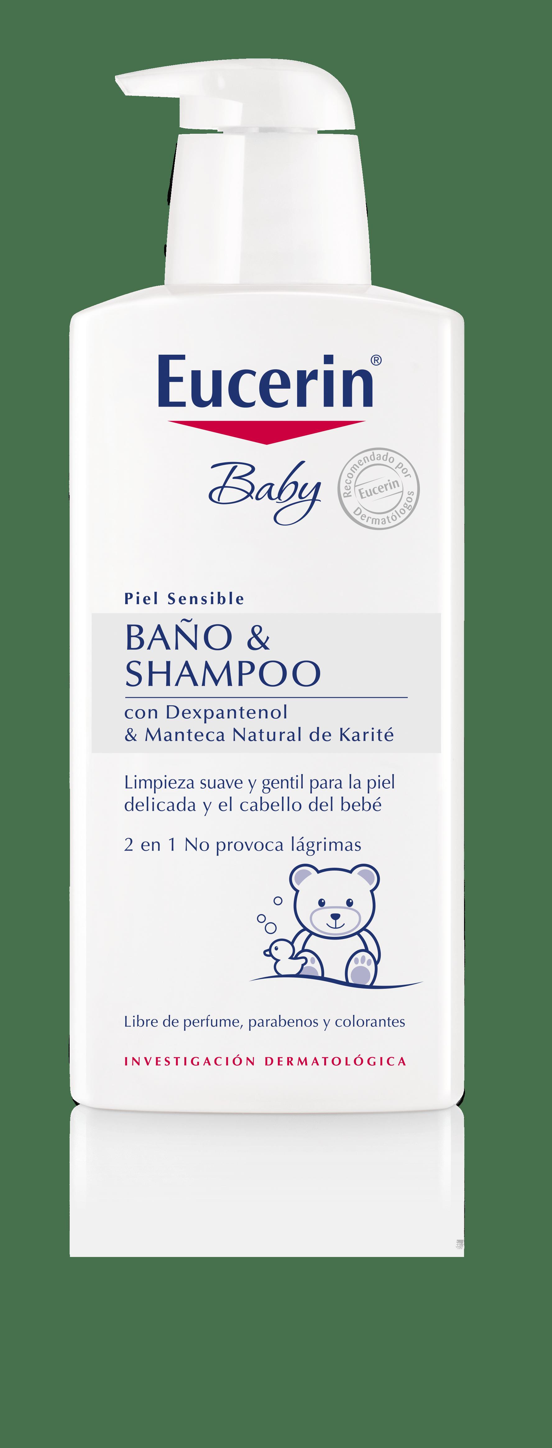 Eucerin ph5 baby ba o y shampoo limpieza de piel y - Gel de bano sin productos quimicos ...