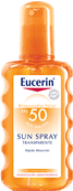 Eucerin Sun Spray Transparent FPS 50
