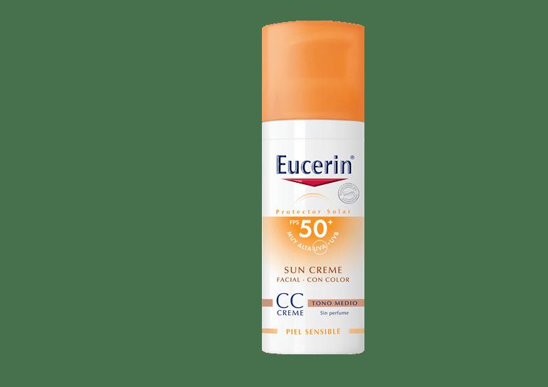 Eucerin Sun Cc Creme Tono Medio Fps 50